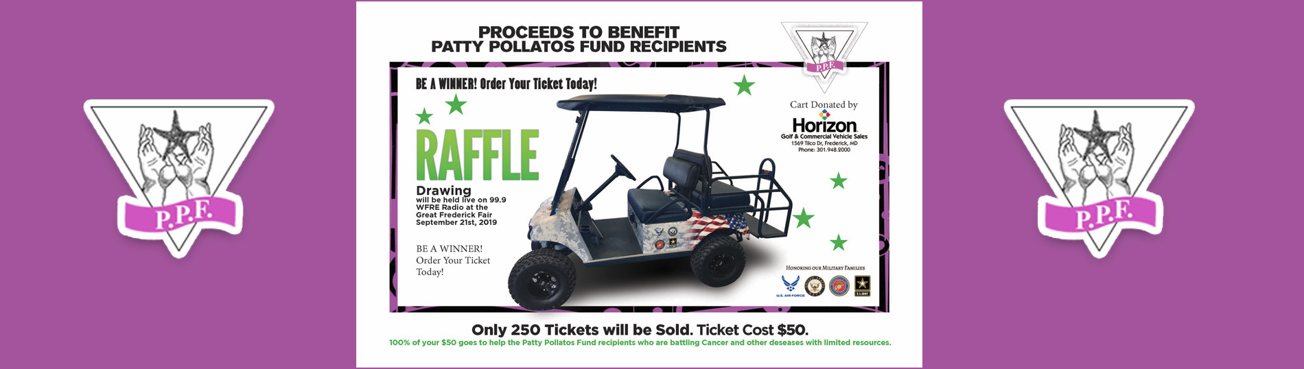 golf cart raffle