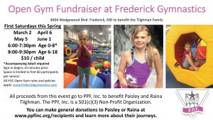 Tilghman Family Open Gym Fundraiser